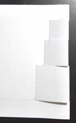 飛び出すポップアップクリスマスカード・プレゼントボックス作り方2