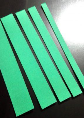 じゃばらで作る飛び出すポップアップクリスマスカード作り方2